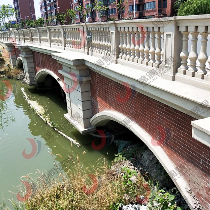 桥梁装饰,晶铸石,精铸石,铸造石,桥梁栏杆,铸造石栏杆-锦澜景观