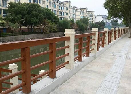仿木桥梁栏杆如何增加使用年限